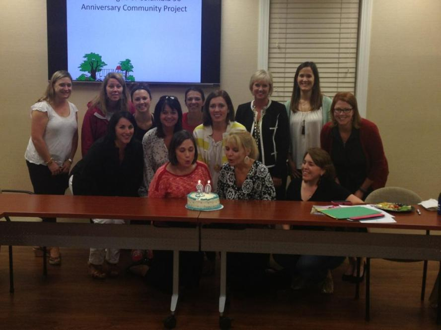 2014-2015 JLC Board Members celebrating our 90th birthday.