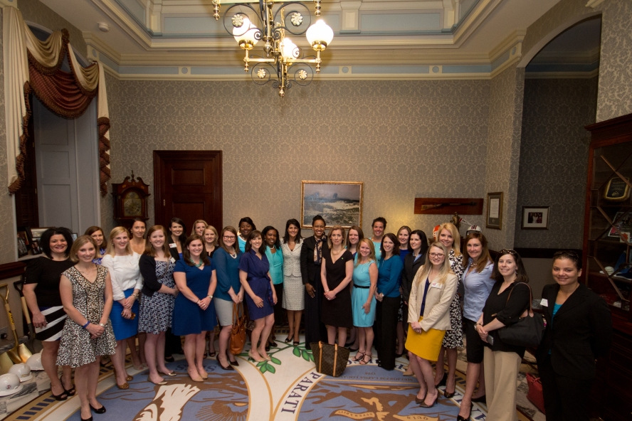 Junior League of Columbia, Governor, Governor Nikki Haley, Leadership, JLC, Junior League
